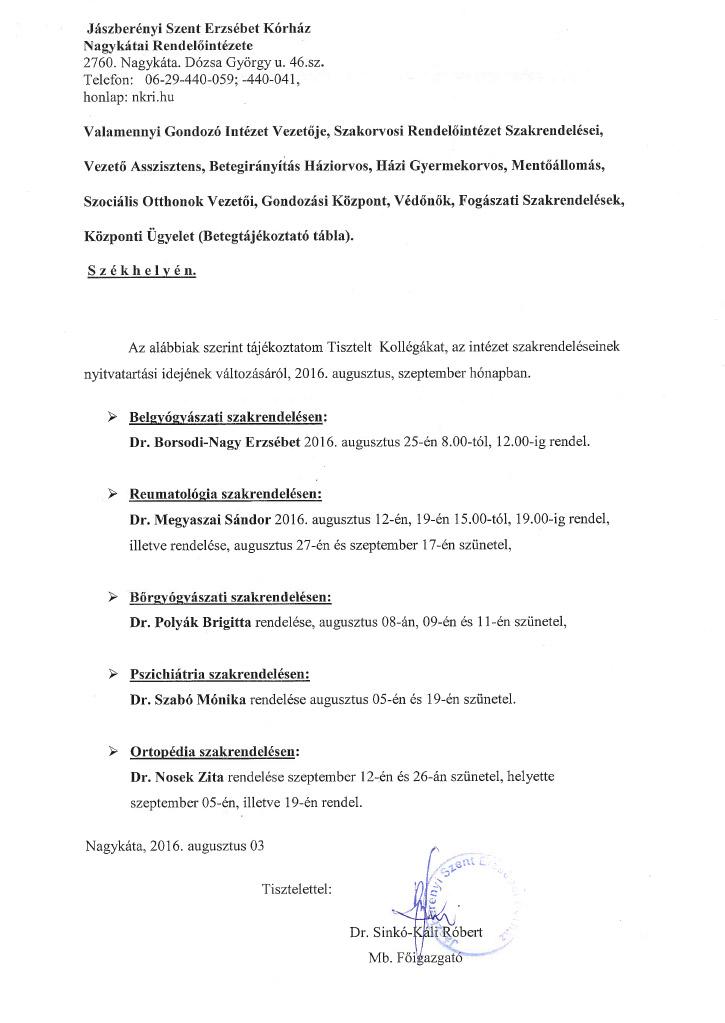 nagykatai-rendelo-rendeles-valtozasok-2016-08-09