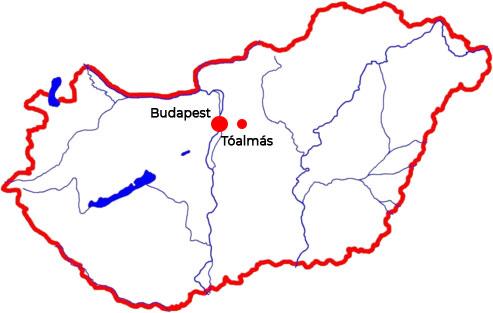 Tóalmás Magyarországon